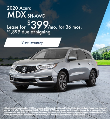 Acura MDX Lease Special Offer