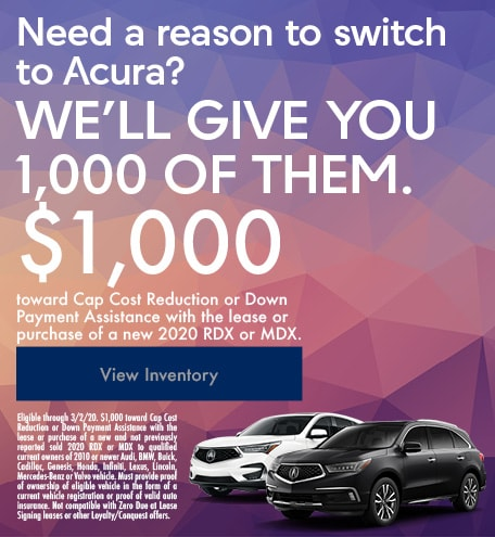 Acura Conquest Offer