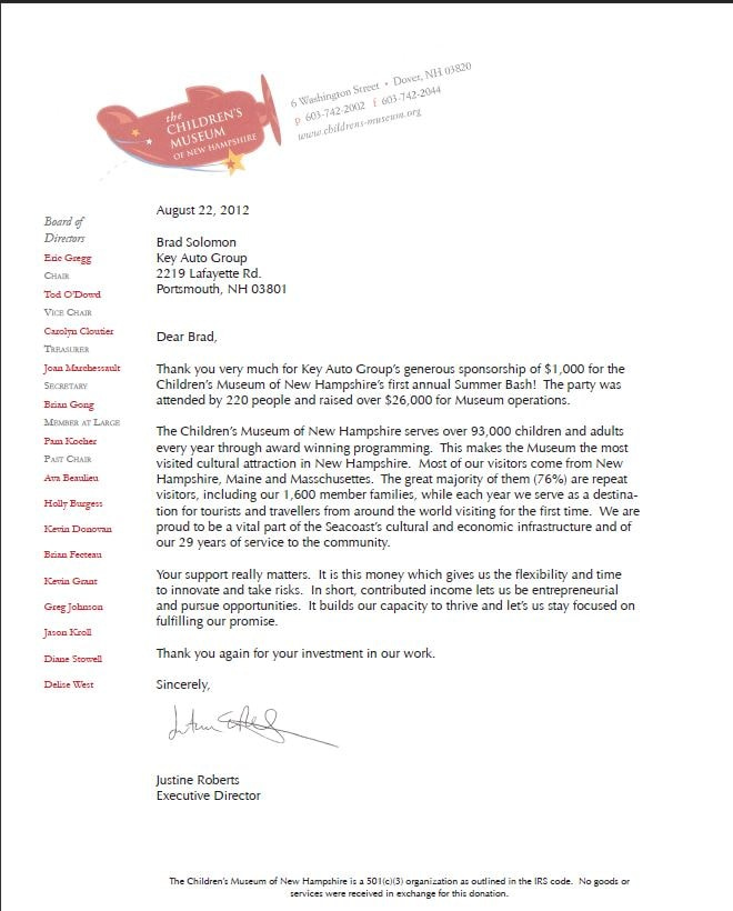 Sample Letters Toys For Tots : Car dealership thank you letter pictures to pin on