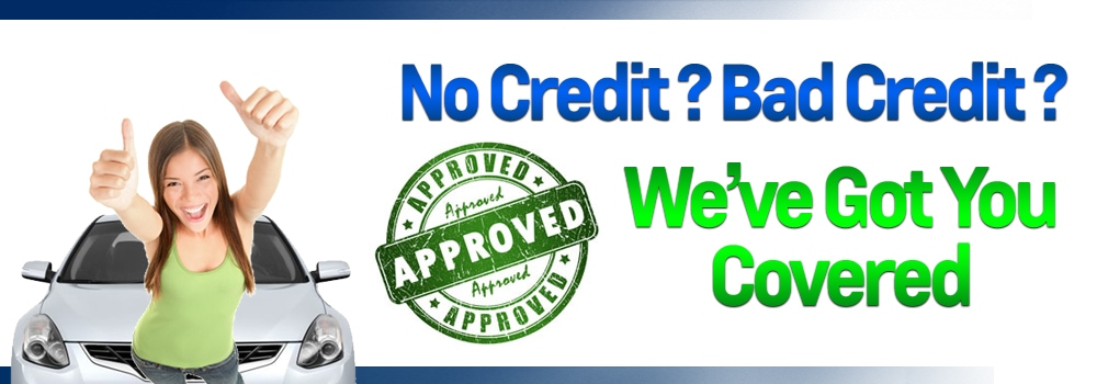 Bad Credit No Credit No Problem Car Loans