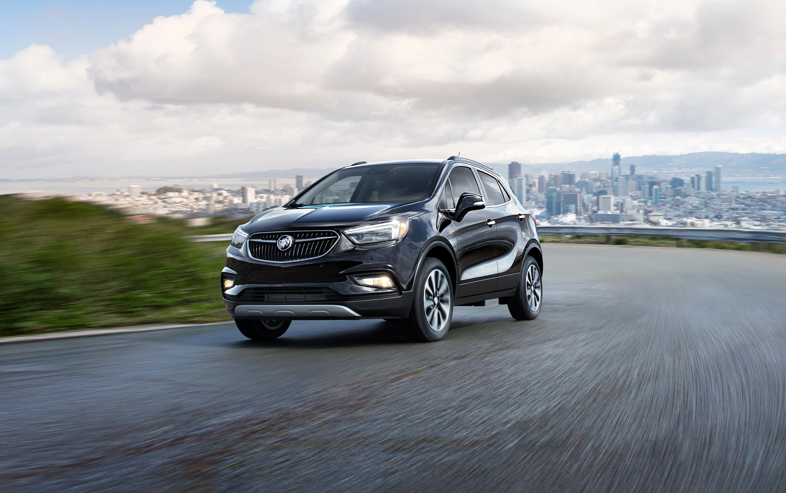 new buick encore driving