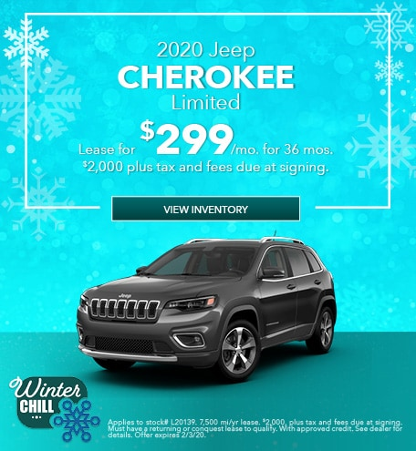 Jeep Cherokee Lease Offer