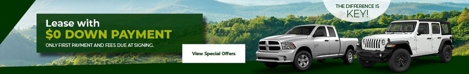 Lease Offers at Key Chrysler Dodge Jeep Ram of Lebanon