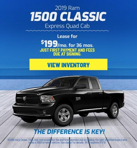 Ram 1500 Classic Quad Cab Lease Offer