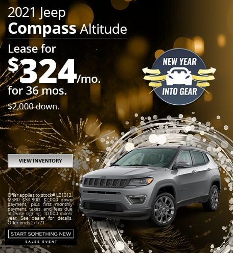 Jeep Compass Altitude Lease Special Offer