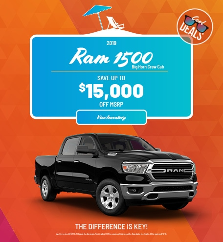 Ram 1500 Big Horn Crew Cab Special Offer