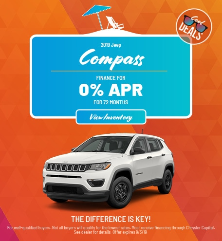 Jeep Compass Financing Offer