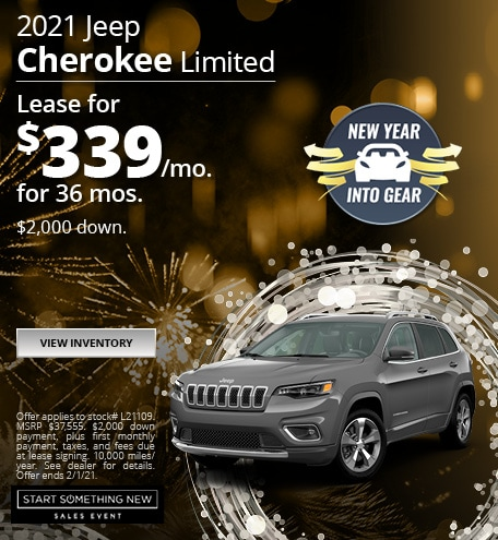 Jeep Cherokee Limited Lease Special Offer