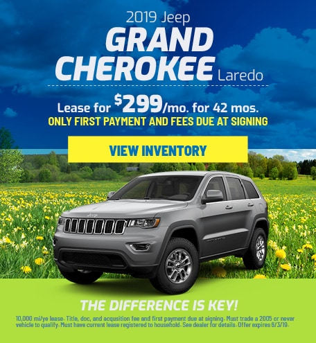 Jeep Grand Cherokee Laredo Lease Offer