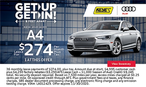 Get Up Get In - New 2020 Audi A4