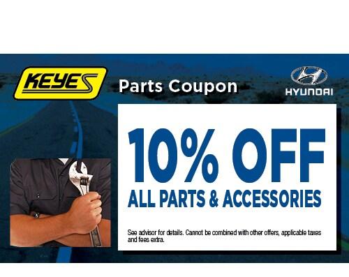 Hyundai Dealership Los Angeles >> Hyundai Parts Specials Hyundai Dealer Near Me