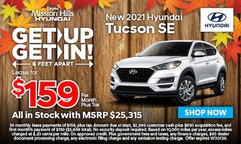 New 2021 Tucson SE