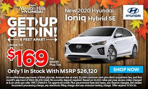 New Hyundai Ioniq Hybrid SE