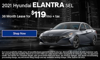 2021 Hyundai Elantra SEL Lease Offer
