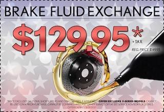Brake Fluid Exchange - May 2021
