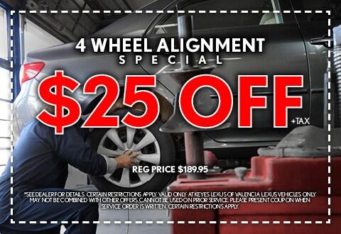 4 Wheel Alignment