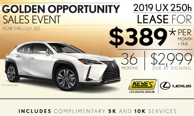 New 2019 Lexus UX 250h Premium Hybrid Luxury Compact SUV Crossover Lease Special Serving Los Angeles, Van Nuys, and Beverly Hill, CA