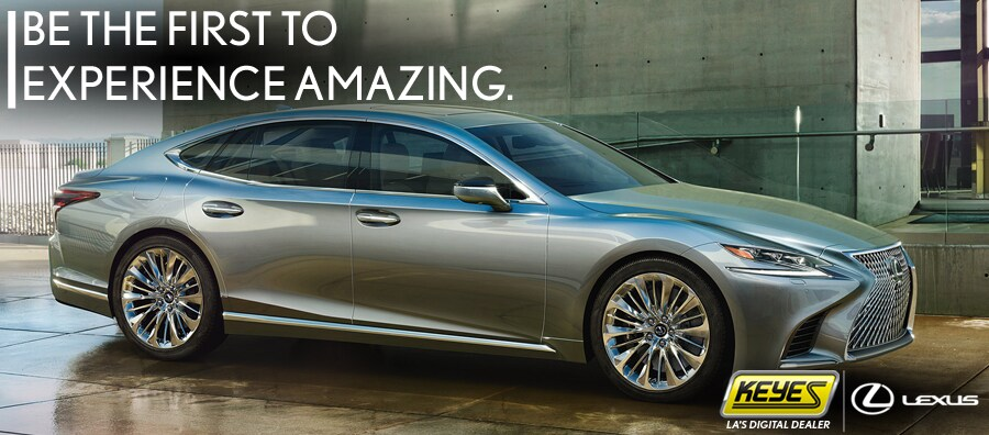 Keyes Lexus | 2018 LS 500/h is here! Come in for a test drive.