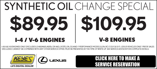 specials on lexus service