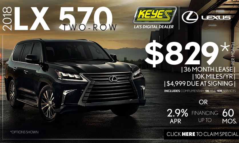 New 2018 Lexus LX 570 Ultra Premium Luxury SUV Lease Special Serving Los Angeles,Van Nuys,and Beverly Hill, CA