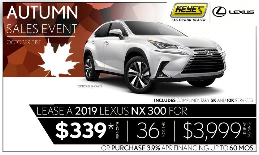 New 2019 Lexus NX 300 Premium Luxury SUV Lease Special Serving Los Angeles,  Van Nuys