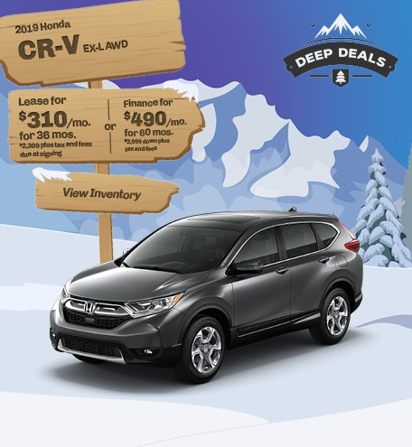 Honda CR-V EX-L Special Offer