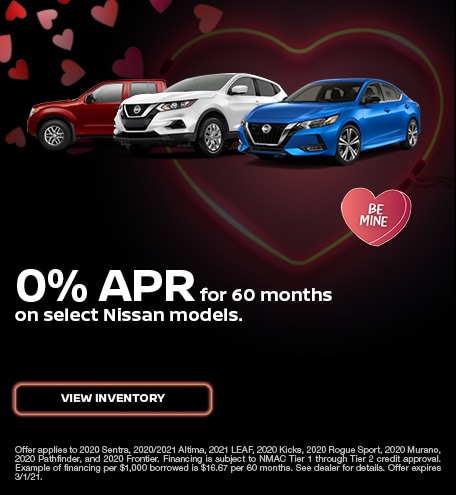 Nissan Financing Special Offer