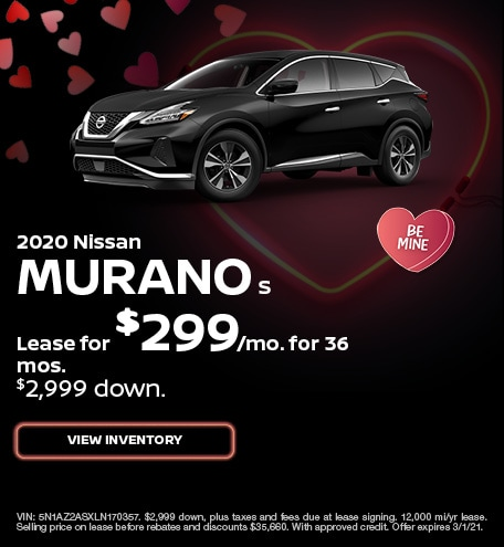 Nissan Murano S Lease Special Offer