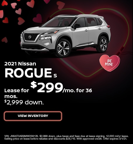 Nissan Rogue S Lease Special Offer