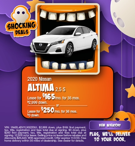 Nissan Altima 2.5 S Lease Special Offer