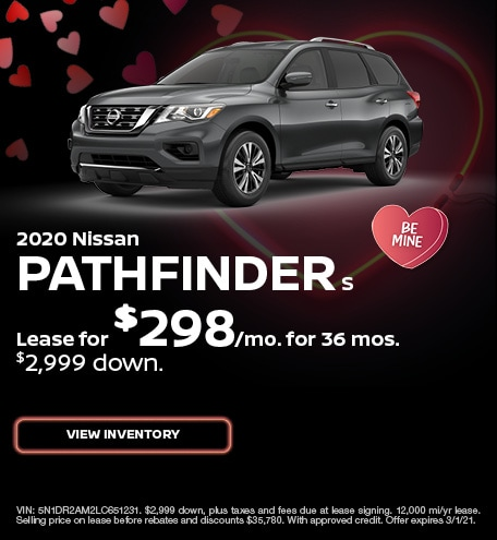 Nissan Pathfinder S Lease Special Offer
