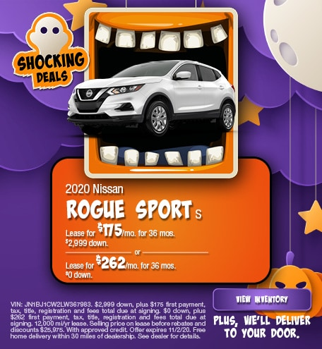 Nissan Rogue Sport S Lease Special Offer