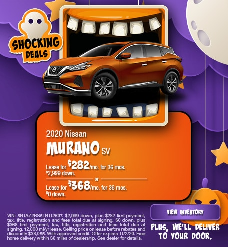 Nissan Murano SV Lease Special Offer