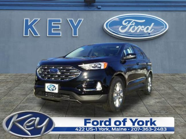 New 2019 Ford Edge Titanium SUV For Sale/Lease Salem, NH