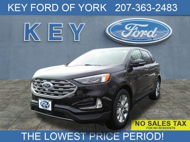 New 2019 Ford Edge Titanium Crossover For Sale/Lease Salem, NH