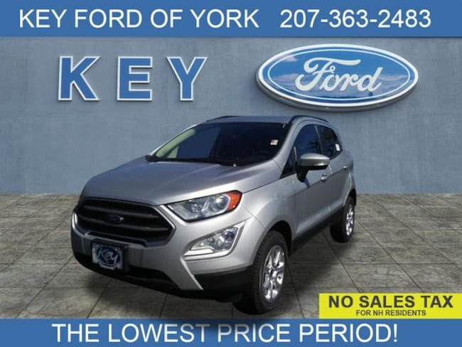 New 2019 Ford EcoSport SE Crossover For Sale/Lease Salem, NH