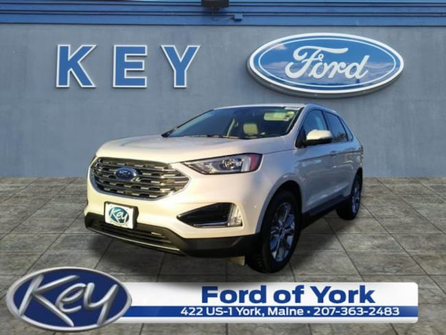 New 2019 Ford Edge Titanium SUV For Sale/Lease Salem, NH