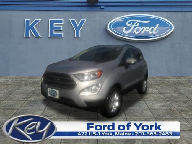 New 2019 Ford EcoSport SE SUV For Sale/Lease Salem, NH