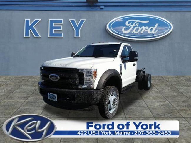 New 2019 Ford Chassis Cab F-550 XL Commercial-truck For Sale/Lease Salem, NH