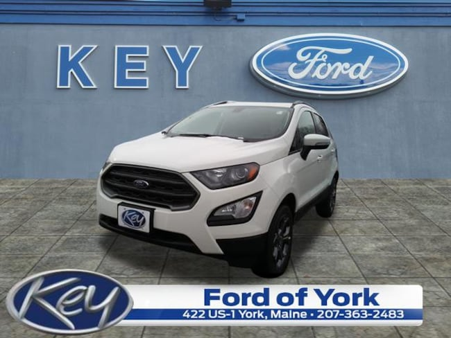 New 2018 Ford EcoSport SES Crossover For Sale/Lease Salem, NH