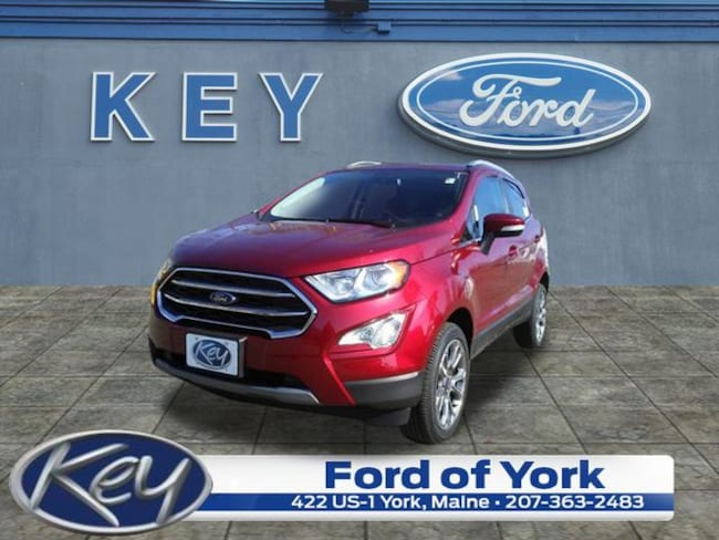 New 2019 Ford EcoSport Titanium SUV For Sale/Lease Salem, NH
