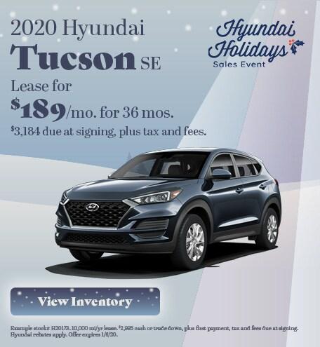 Hyundai Tucson Lease Offer
