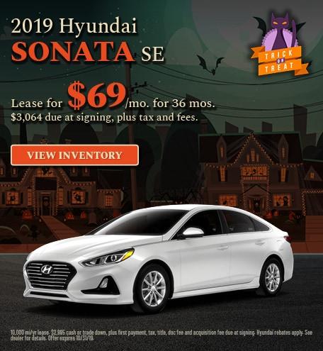 Hyundai Sonata SE Lease Offer