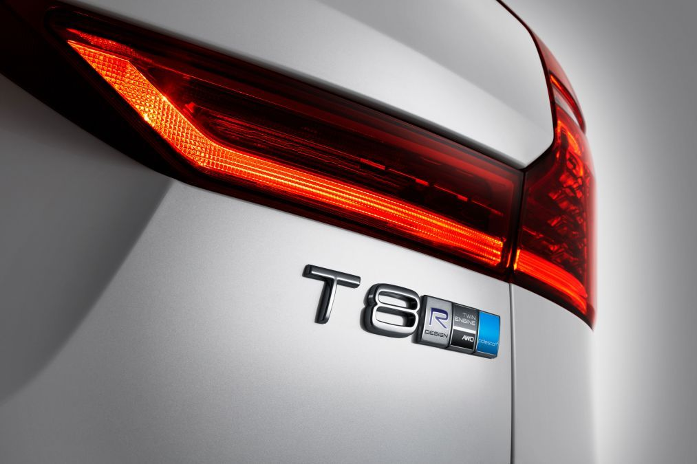 POLESTAR Performance T8 R Design Badge