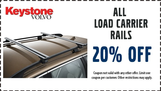 20% Off All Load Carrier Rails