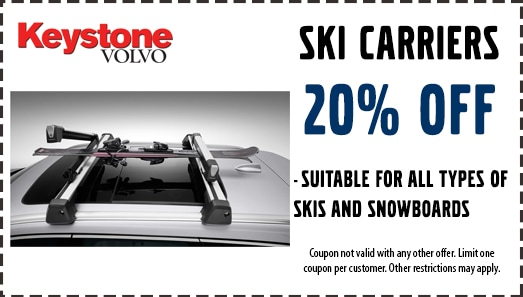20% Off Ski Carriers