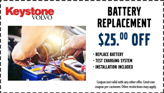 $25 Off Battery Replacement