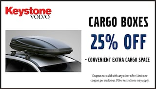 25% Off Cargo Boxes