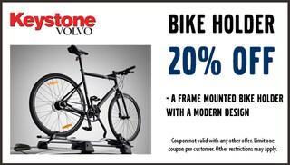 20% off Bike Holders