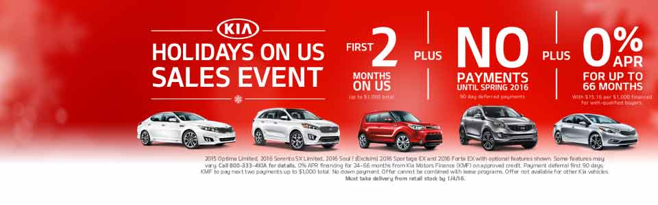 Kia Sales Event